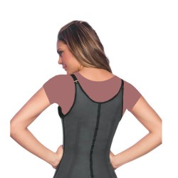 المشد الكولمبي ان شيري ANN CHERY 2028 Semi-vest Latex Waist Training Cincher Black