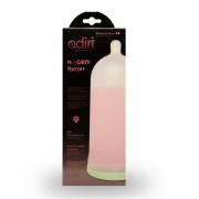 رضاعة اديري للمواليد 281مل 6-9 شهور وردي Adiri NxGen Stage 2 Nurser Medium Flow Baby Bottle