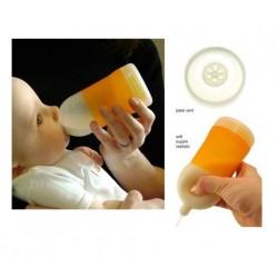رضاعة اديري للمواليد 281مل 6-9 شهور أزرق  Adiri NxGen Stage 2 Nurser Medium Flow Baby Bottle