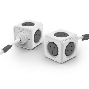 وصلة المكعب الذكي مع سلك 3م  PowerCube Extended 3m cable UK