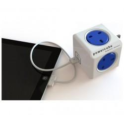 توصيلة المكعب الذكي USB متعدد الالوان PowerCube Original USB UK