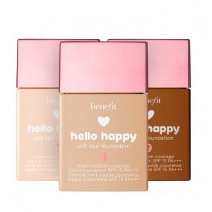 فاونديشن بنفيت هابي هالو سوفت Benefit Hello Happy Soft Blur Foundation SPF15
