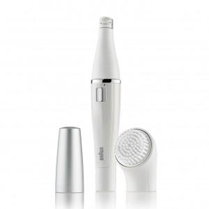 براون فيس الة نزع الشعر وتنظيف الوجه Braun Face SE810 Facial Epilator & Cleanser