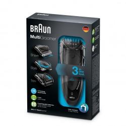 براون ماكينة حلاقة متعددة الاستخدامات Braun MG5050 Multi Groomer With 2 Comb Attachments