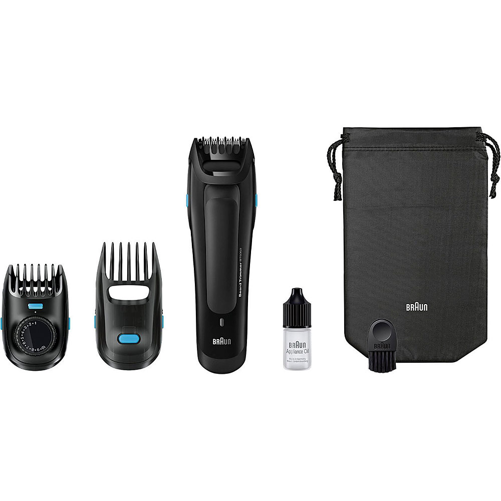 sr 270 braun braun bt5050 beard trimmer with 2 comb. Black Bedroom Furniture Sets. Home Design Ideas