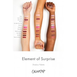 باليت ايشادو عنصر المفاجئة كلربوب Element of Surprise Pressed Powder