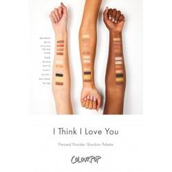 باليت ايشادو اعتقد اني احبك كلربوب Colourpop I Think I Love You
