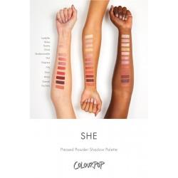 باليت ايشادو كلربوب شي Colour Pop She Shadow Palette