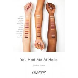 باليت ايشادو كنت لي في مرحبا كلربوب ColourPop You Had Me at Hello