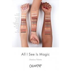 باليت ايشادو كل ما أراه السحر كلربوب Colourpop All I See Is Magic