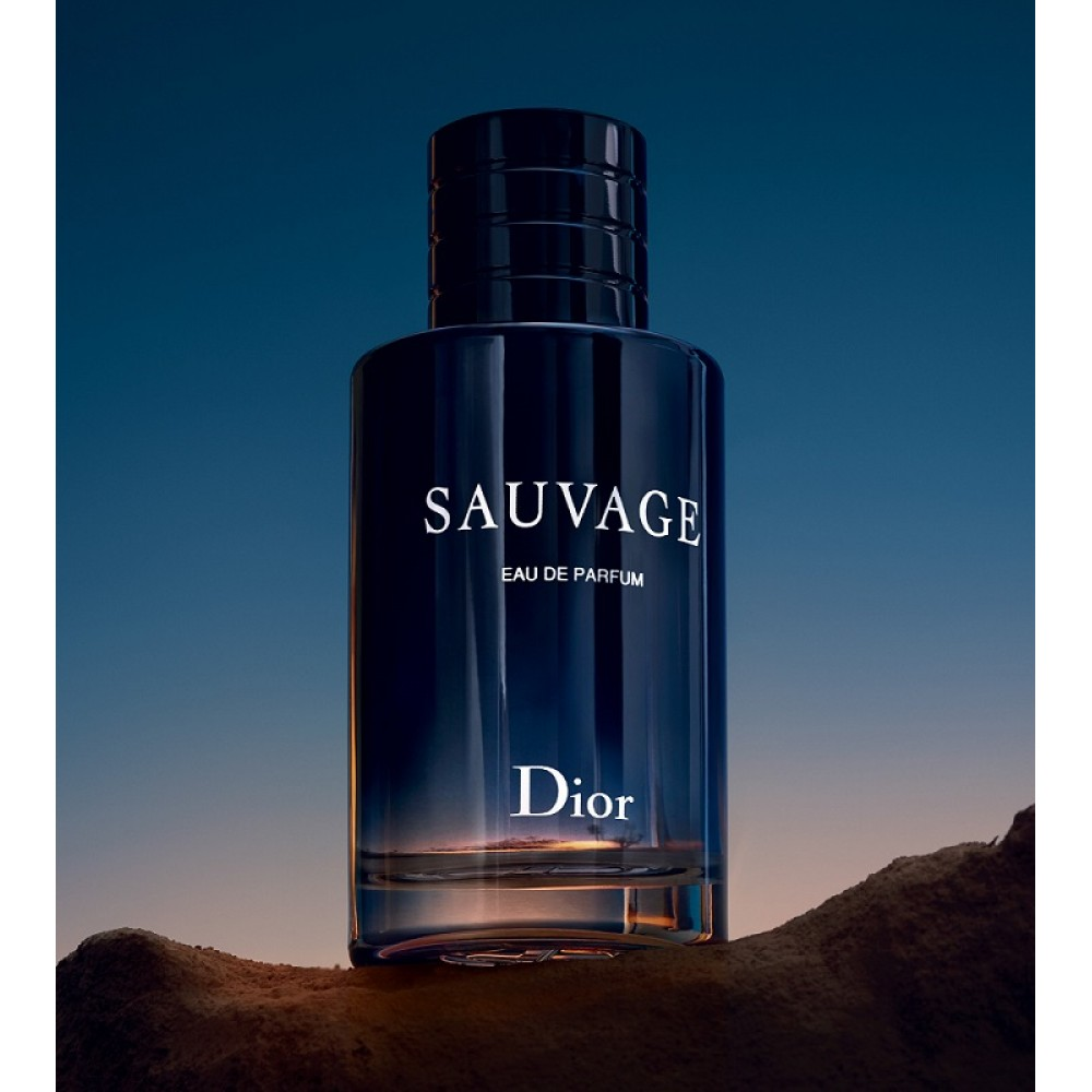 dc13bc588 ... عطر سوفاج 2018 كريستيان ديور للرجال Sauvage Eau de Parfum Christian Dior  2018 100ml