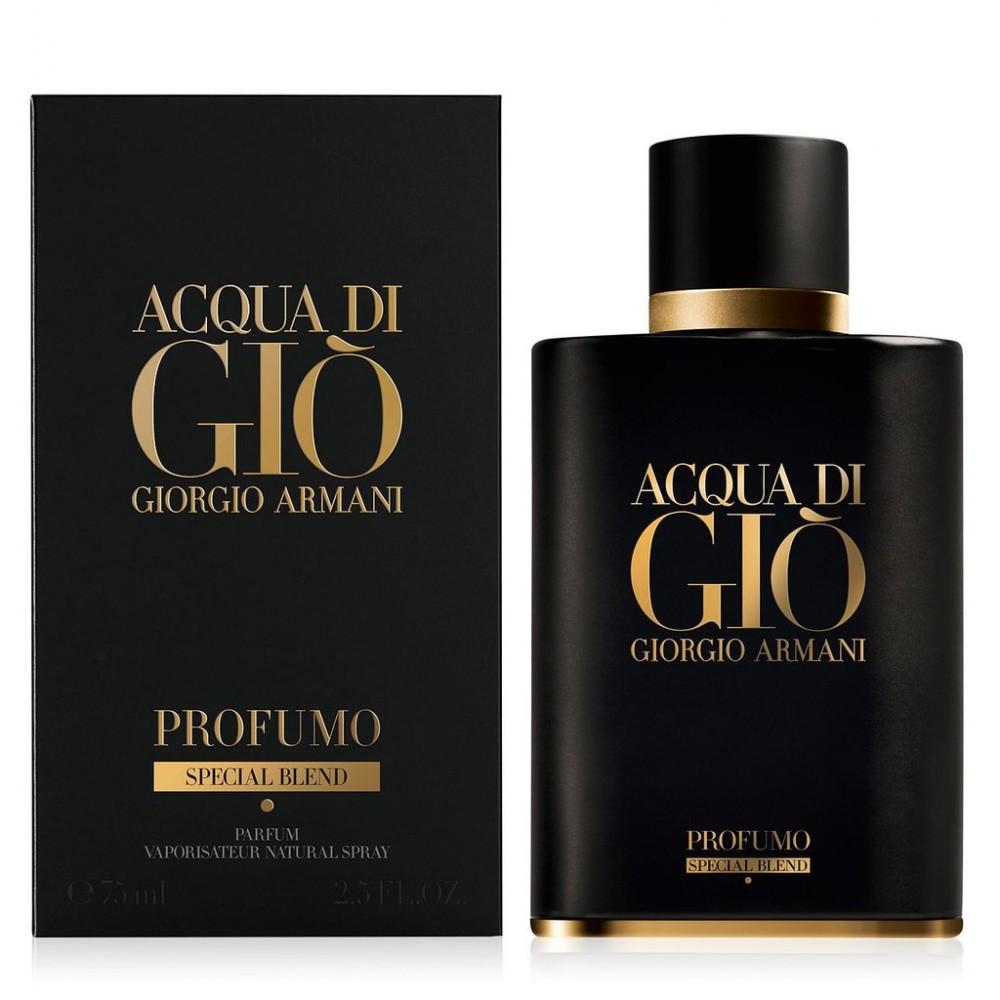 3f18bf354 عطر جورجيو أرماني أكوا دي جيو بروفومو سبيشل للرجال 75 مل Acqua Di Gio  Profumo Special ...