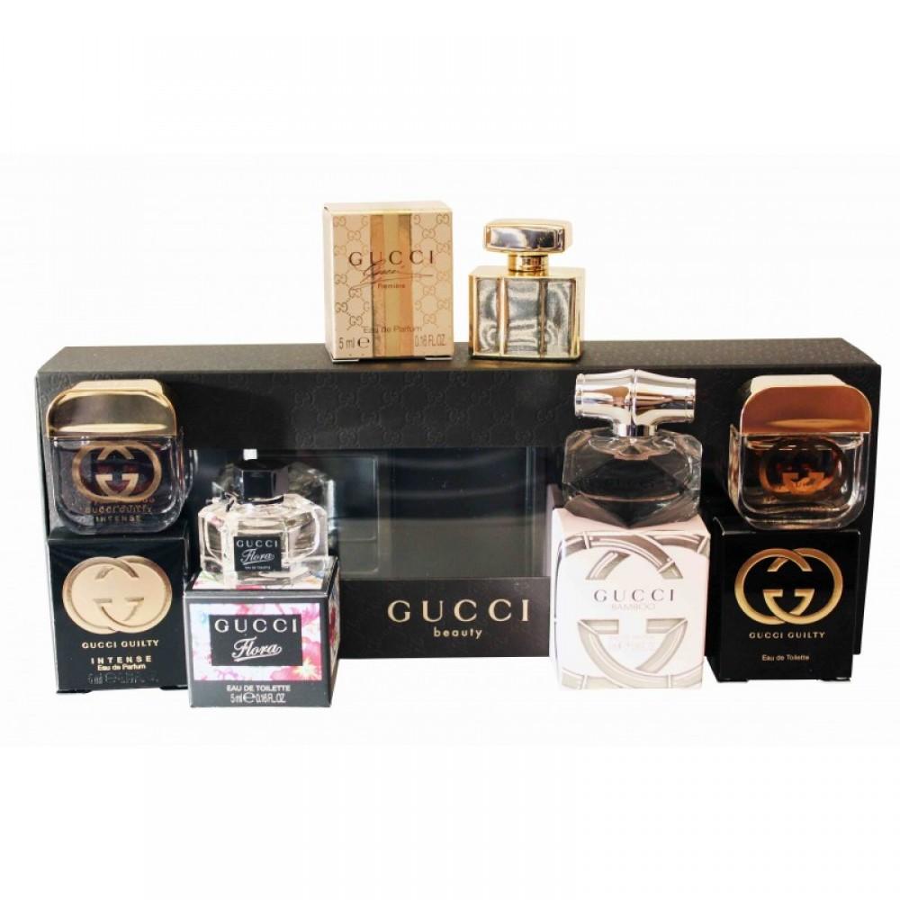 d17e7a074ec5c SR 0-عطور-GUCCI-مجموعة عطور قوتشي ميني للنساء GUCCI   5 perfumes ...