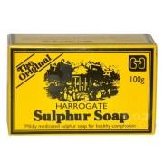 هاروغيت الكبريت صابون الكبريت الانجليزية 100 جرام England Harrogate Sulphur Soap sulfur 100 grams