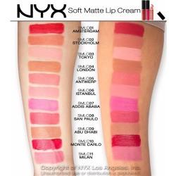 أحمر شفاه كريمي نيكس Soft Matte Lip Cream NYX