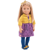 "دمية اور جنيراشن اوليفيا Regular 18"" Doll Olivia Our Generation"