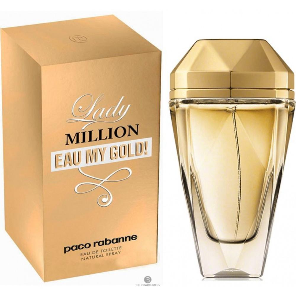 75333ab95 عطر ليدي مليون ماي جولد تواليت من باكو رابان 80 مل Lady Million Eau My Gold  ...