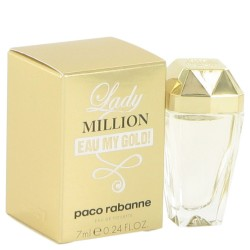 عطر ليدي مليون ماي جولد تواليت  Paco rabanne Lady Million Eau My Gold! Eau de toilette 7 ml
