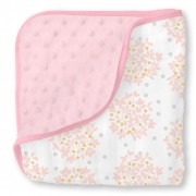 بطانية موسلين للاطفال Muslin Snuggle Blanket  Heavenly Floral Shimmer