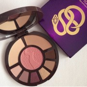 باليت ايشادو وهايلايت تارت   Tarte Rainforest after dark colored clay eye & cheek palette