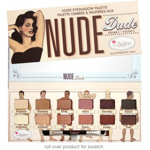 نود دود ايشادو بالت ذا بالم  The Balm Nude Dude Nude Eyeshadow Palette