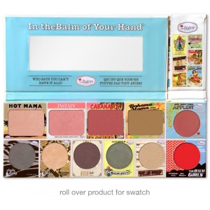 باليت ذا بالم هيولداي  (In theBalm of Your Hand (Holiday Face Palette