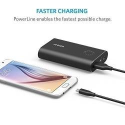 كابل انكر مايكرو يو اس بي 5 حبات بأطوال مختلفة Anker [5-Pack] PowerLine Micro USB (Assorted Lengths) / Black