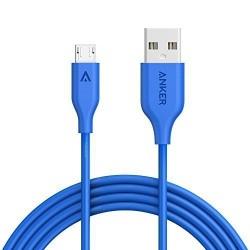 كابل انكر بور لاين 3ft ازرق للايفون Anker PowerLine Lightning Cable 3ft / Blue
