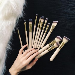 مجموعة فرش بي اتش Studded Couture - 12 Piece Brush Set