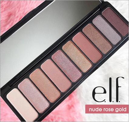nude rose gold eyeshadow palette
