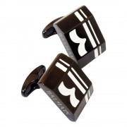 كبك فلينج اسود من بيلماين Balmain Flying CuffLink Black