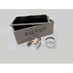 كبك فضي ريجوس من بيلمان Balmain Rigos CuffLink Silver