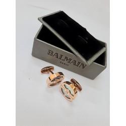 كبك ريجوس ذهبي من بيلماين Balmain Rigos CuffLink Gold
