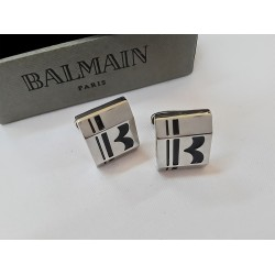 كبك فضي فلينج من بيلماين Balmain Flying CuffLink Silver
