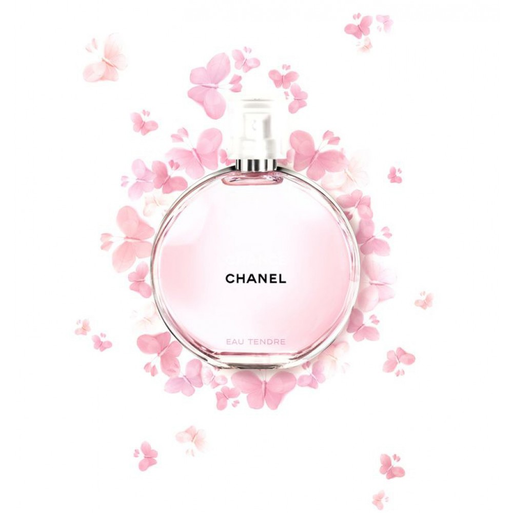 a54086a78 ... عطر شانس تندر من شانيل نسائي 100 مل Chance Eau Tendre Chanel for women  ...