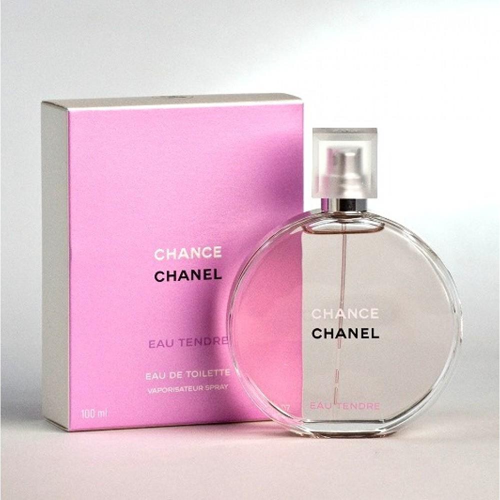 62e5f8f04 ... عطر شانس تندر من شانيل نسائي 100 مل Chance Eau Tendre Chanel for women