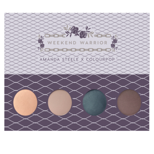 باليت ايشادو كلر بوب Weekend Warrior Pressed Powder Shadow Palette