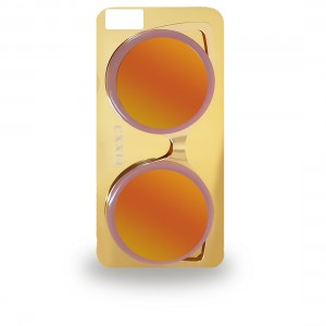 كفر النظارة بخلفية عاكسة للايفون 6  و ايفون 6 اس 3D candy Color Fashion Glasses Sunglasses Case for Iphone 6 & 6s