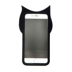 كفر كيوت بلاك كات للايفون 6 و ايفون 6 اس 3D cartoon animals cute black cat Iphone 6  & Iphone 6s