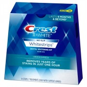 لصقات كرست ثري دي لتبيض الاسنان crest 3d white 1 hour express whitestrips dental whitening kit