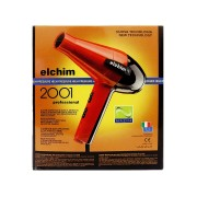 استشوار ايلكم الاحترافي 2000 واط  Elchim-2001-Professional Salon Hair Dryer RED Italy- Pro Salon Blow 1700-2000 W