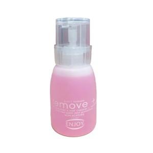 انجوي مزيل طلاء الاظافر enjoy remove plus non acetone nail polish remover 150ml