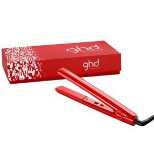 مكواة تمليس وفرد الشعر الحمراء من جي اتش دي  ghd RED GLOSS CLASSIC 1 PROFESSIONAL STYLER