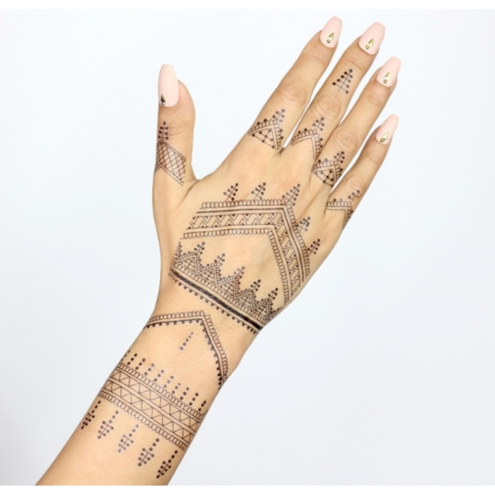 تاتو لطیفه henna designs for hands
