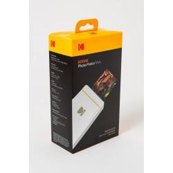 طباعة موبايل PM-210W محمولة أبيض  KODAK Photo Printer Mini PM-210W