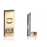 مجموعة قلم و جل ايلاينر كايلي Birthday Edition Kylie Kyliner eyeliner Gel liner Dark Bronze