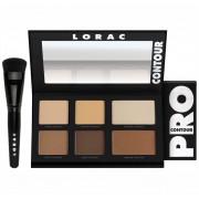 باليت كونتور لوراك برو مع فرشاة LORAC PRO Contour Palette & PRO Contour Brush