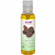 زيت الجوجوبا العضوي Now Foods Solutions Certified Organic Jojoba Oil 118 ml