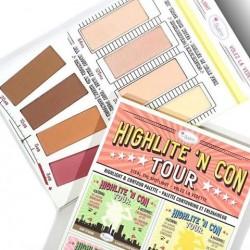 باليت تاور هايلايت و كونتور ذا بالم Highlite 'N Con Tour