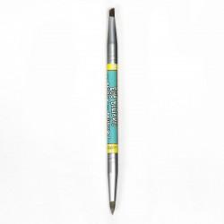 فرشاة ذا بالم المزدوجة للحواجب والايلاينر Women Empowderment Double-Ended Eyebrow/Eyeliner Brush